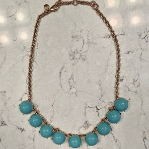 J.Crew Blue Necklace